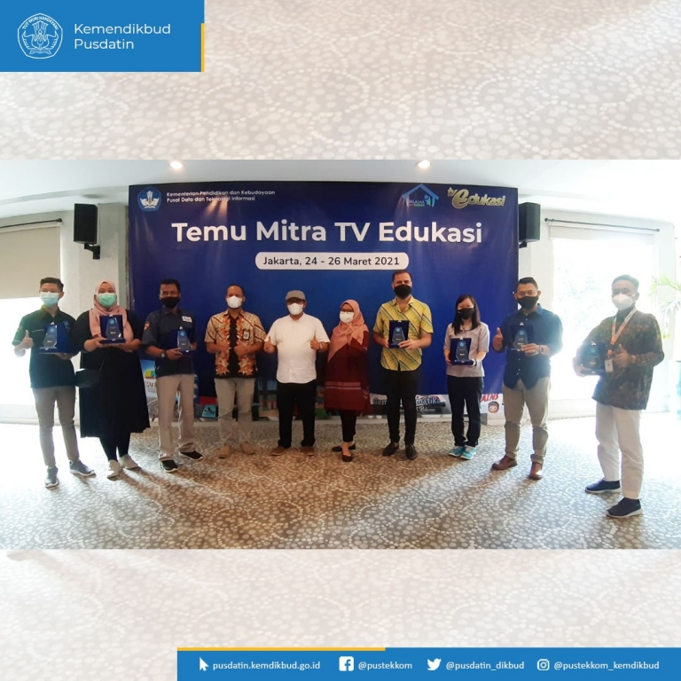 Migo Indonesia President Director attends Indonesia's Ministry of Education and Culture's conference to expand the Program Belajr Dari Rumah (BDR) or Learing From Home program