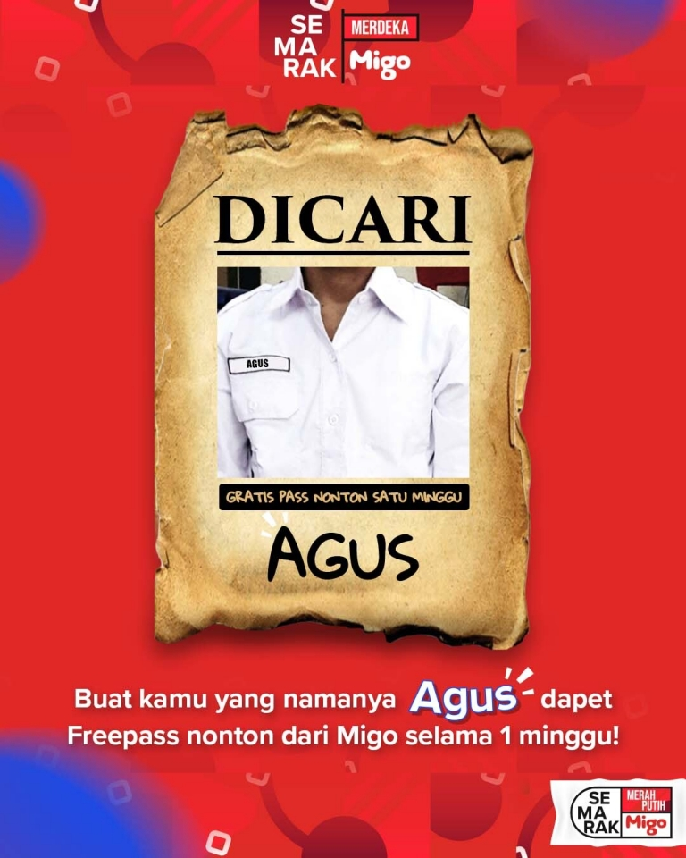 Migo celebrates 17 August with a gift for every Agus
